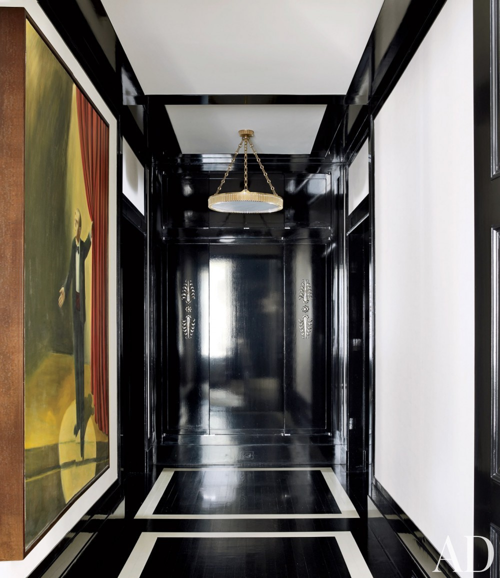 Modern Staircase/Hallway by Victoria Hagan Interiors and Peter Pennoyer Architects in New York, NY