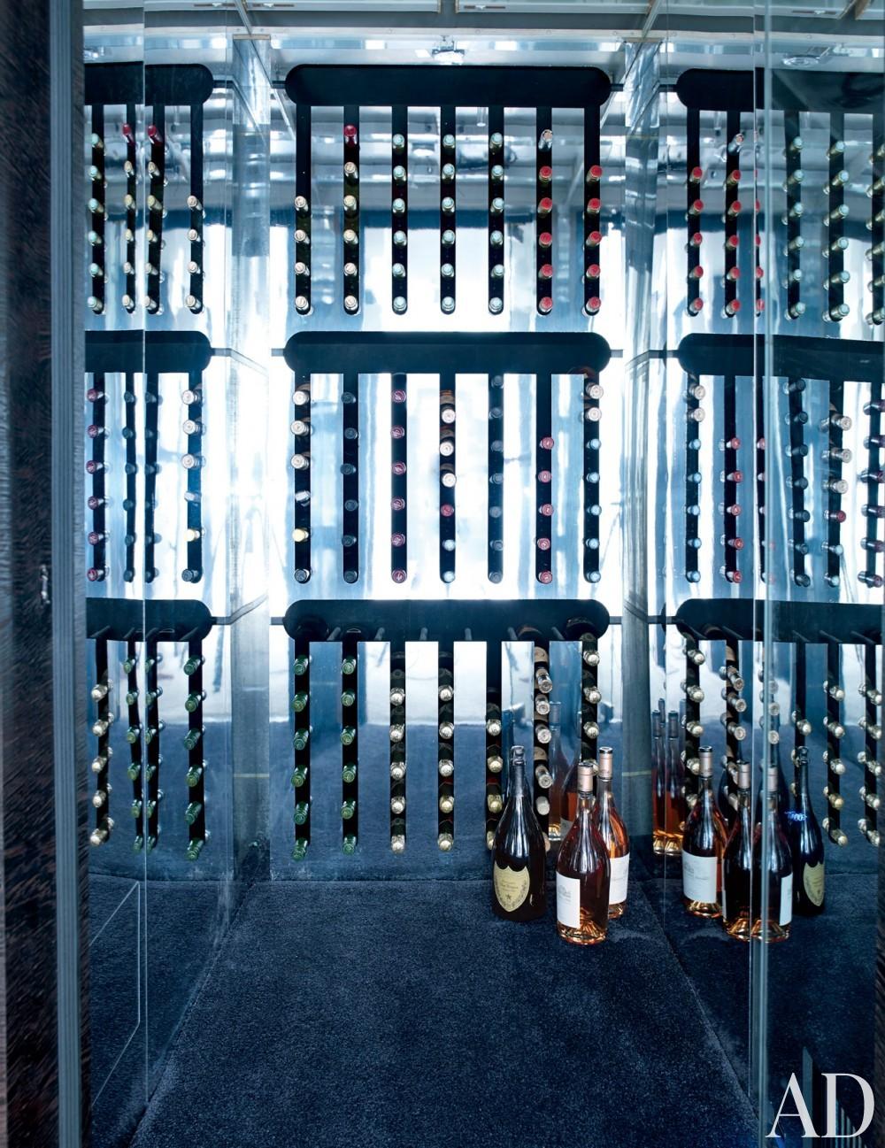 Modern Wine Cellar by Joanne de Guardiola and Jon Bannenberg