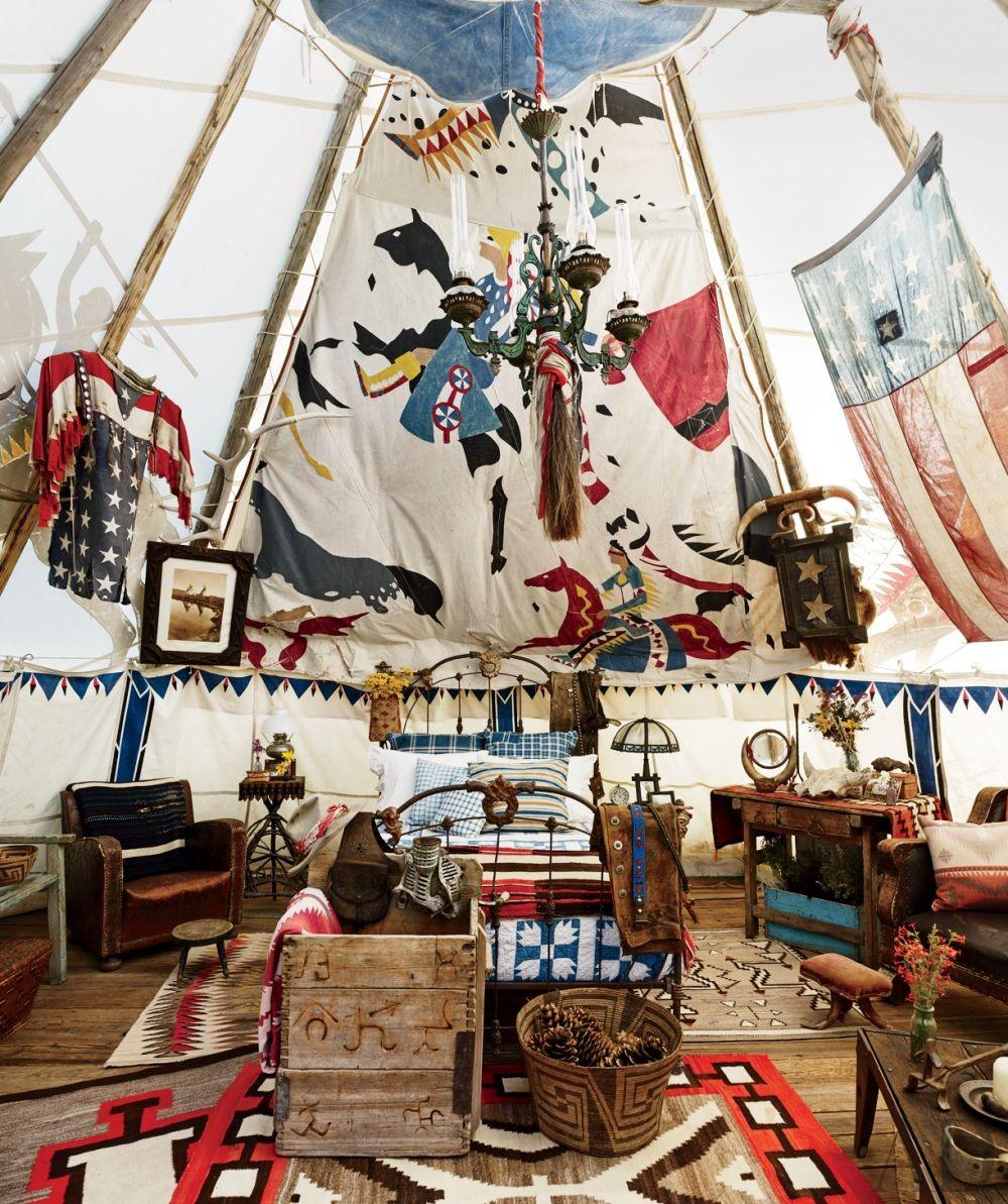 Rustic Bedroom in Colorado