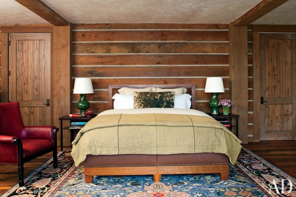Rustic Bedroom By Michael S Smith Inc By Architectural