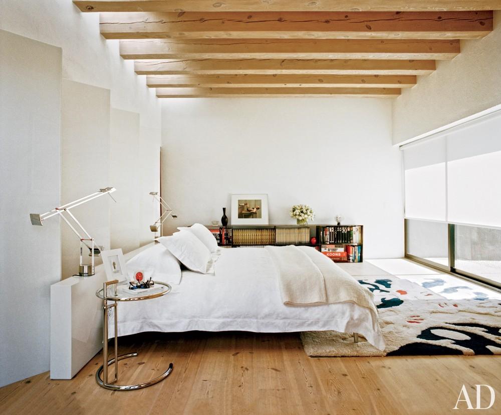 Rustic Bedroom and Ralph Ridgeway in Santa Fe, New Mexico