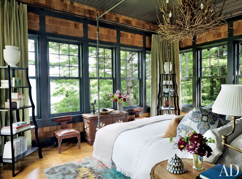 Rustic Bedroom By Thom Filicia By Architectural Digest