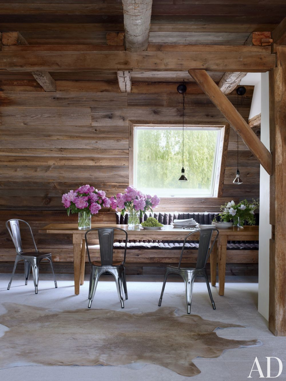 Rustic Living Room By Studio Sofield By Architectural: Rustic Dining Room By Bonetti/Kozerski Studio By