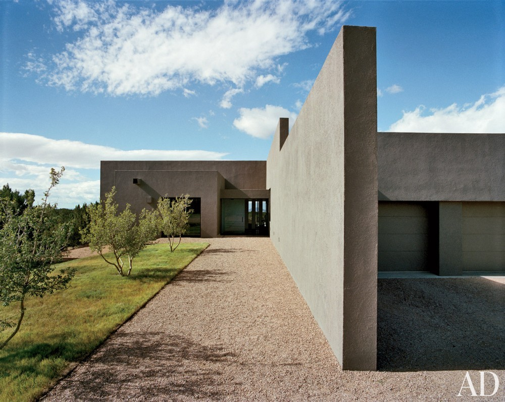 Rustic Exterior and Ralph Ridgeway in Santa Fe, New Mexico
