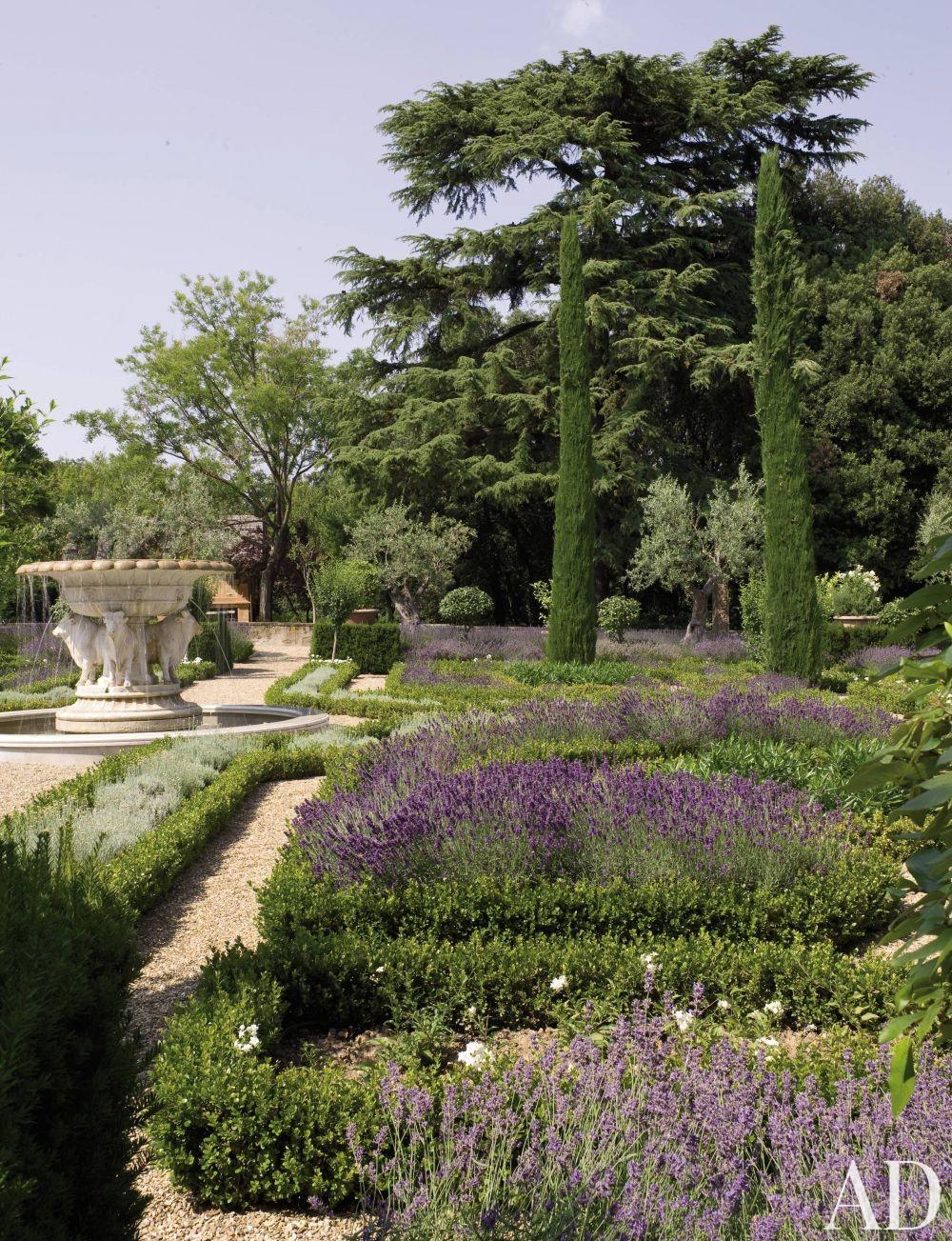 Rustic Garden by Arabella Lennox-Boyd in Tuscany, Italy