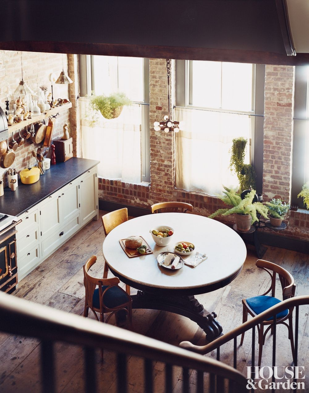 Rustic Kitchen By Carter Smith By Architectural Digest