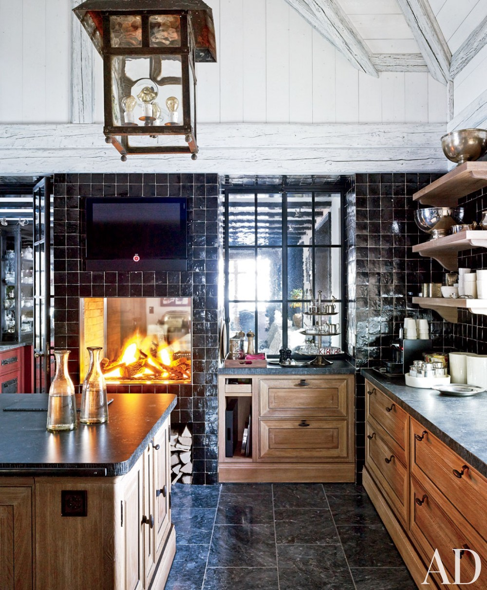 Rustic kitchen by s r gambrel inc by architectural for Kitchen design zurich