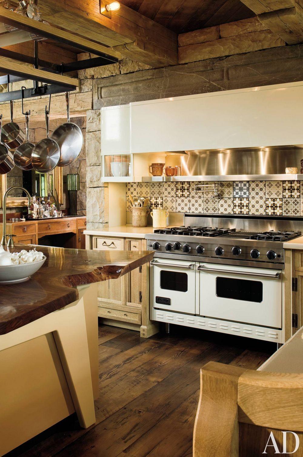Rustic Kitchen by Studio Sofield in Colorado