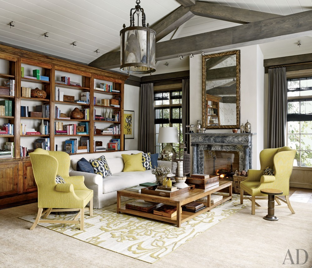 Rustic living room by s r gambrel inc by architectural for Room design zurich