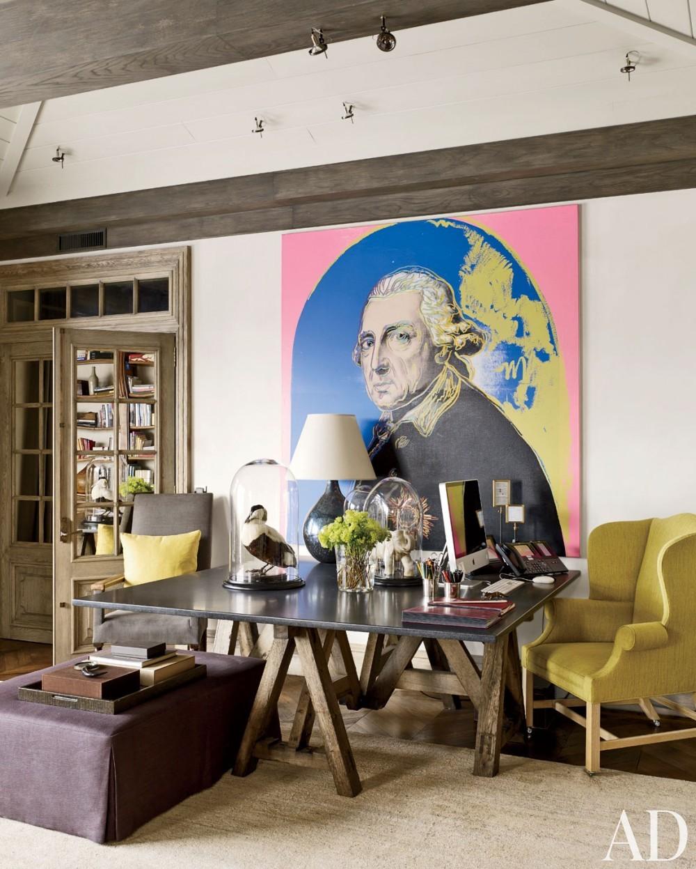 Rustic Living Room by S. R. Gambrel Inc. and Mathis Meier Architekten in Zurich, Switzerland