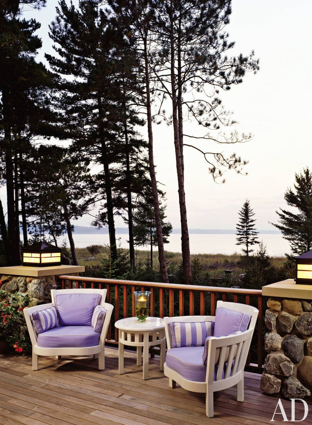 Rustic Outdoor Space By Lawrence Boeder AD DesignFile Home Decorating Pho