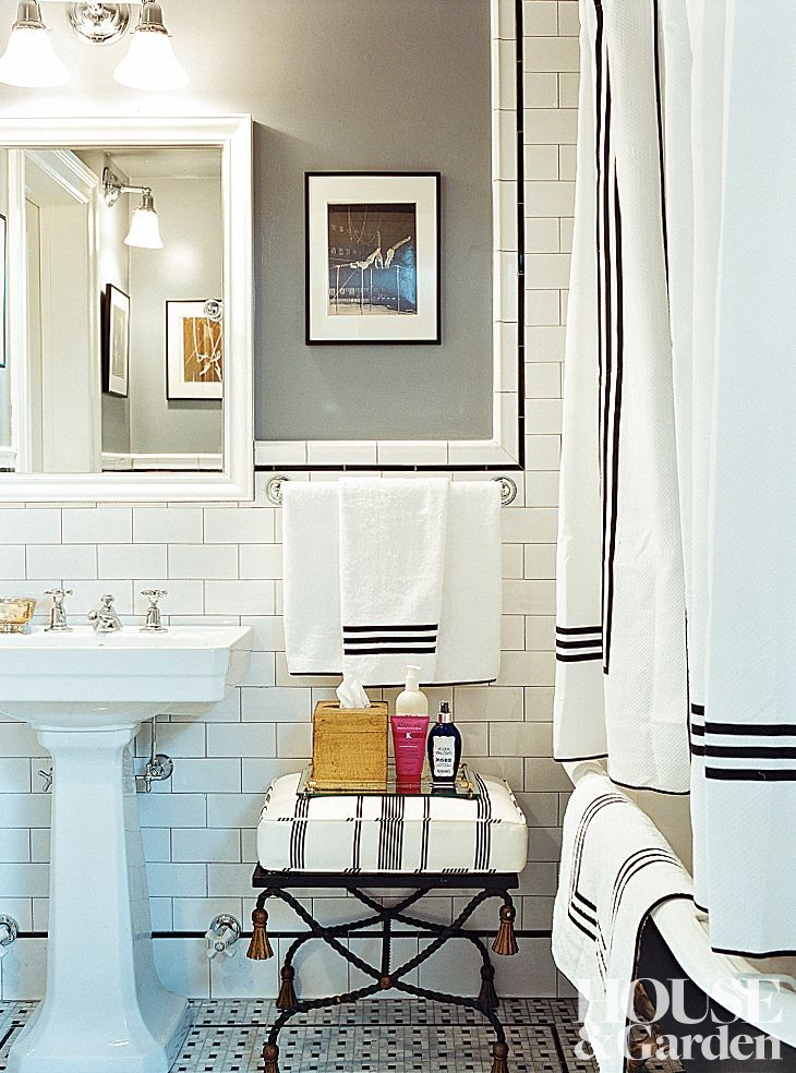 Traditional bathroom by cafiero select by architectural for Architectural digest bathroom designs