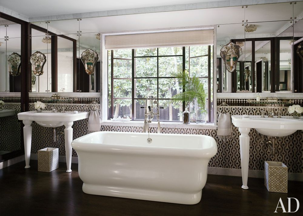 Traditional Bathroom by Commune in Los Angeles, California