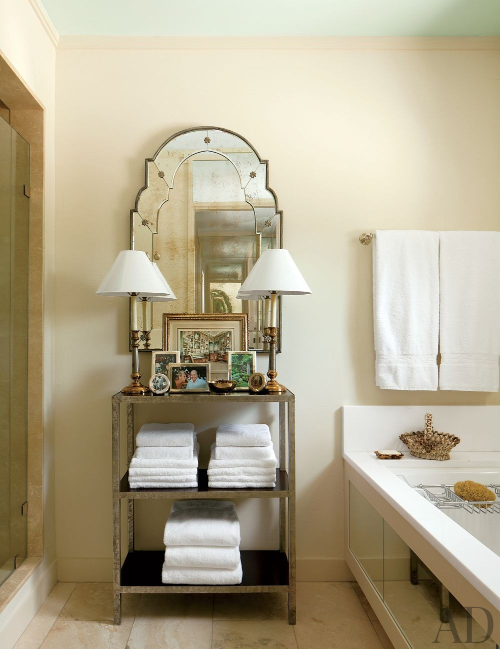 Traditional Bathroom by David Easton Inc. in Tulsa, Oklahoma