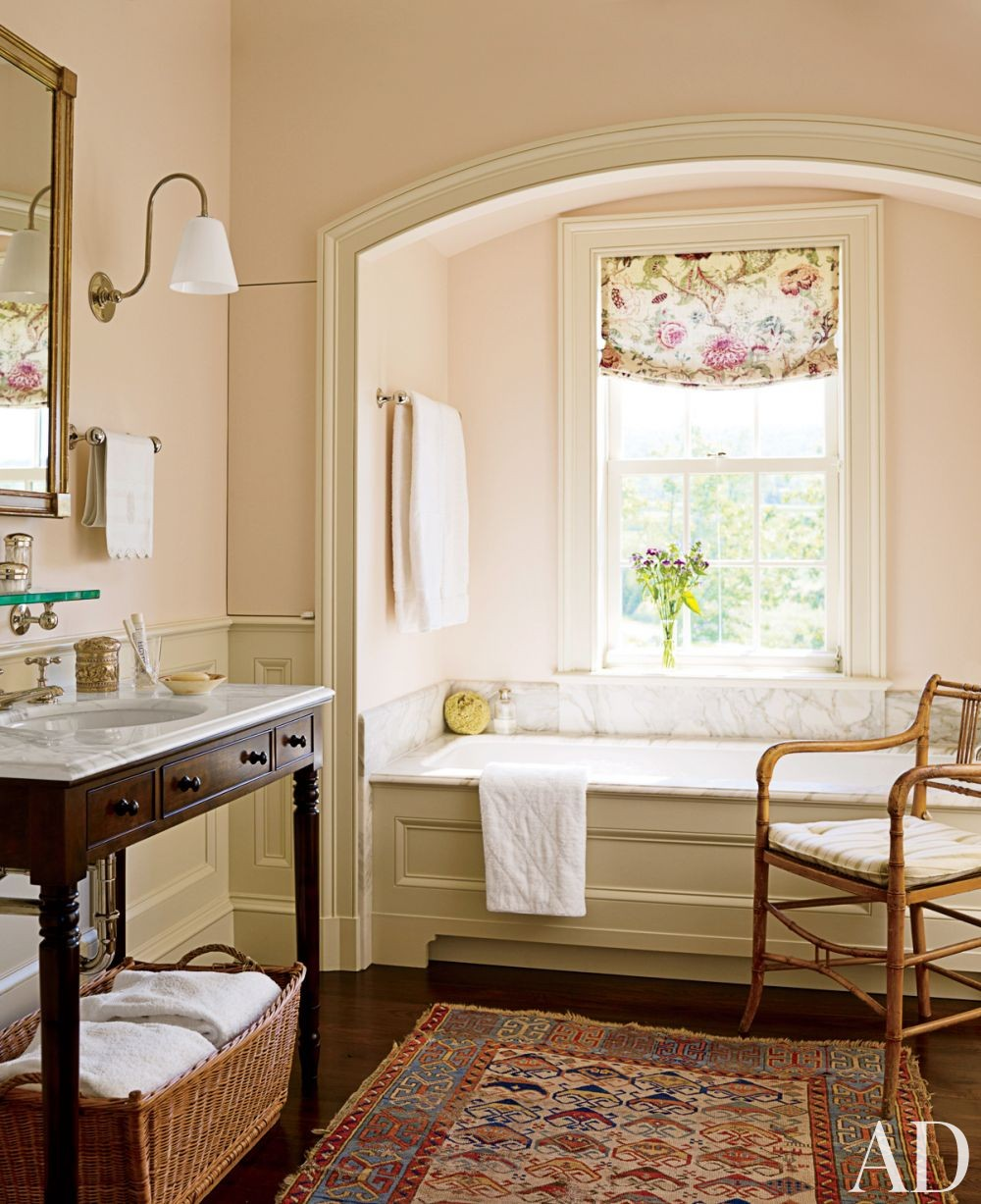 Traditional Bathroom by G. P. Schafer Architect in Dutchess County, New York