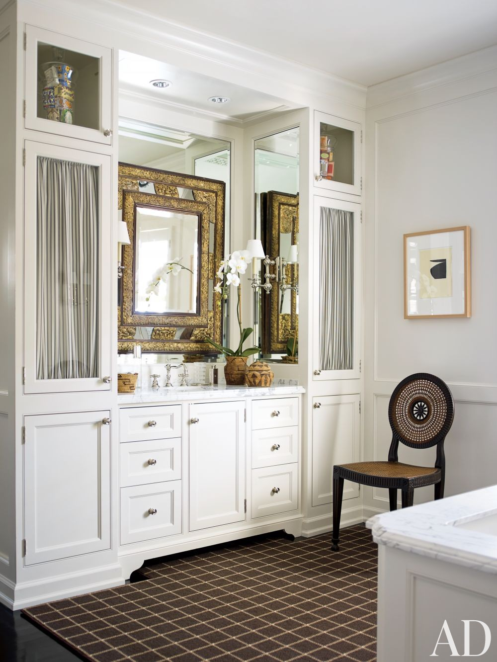 traditional bathroom by j randall powers by architectural digest ad designfile home. Black Bedroom Furniture Sets. Home Design Ideas