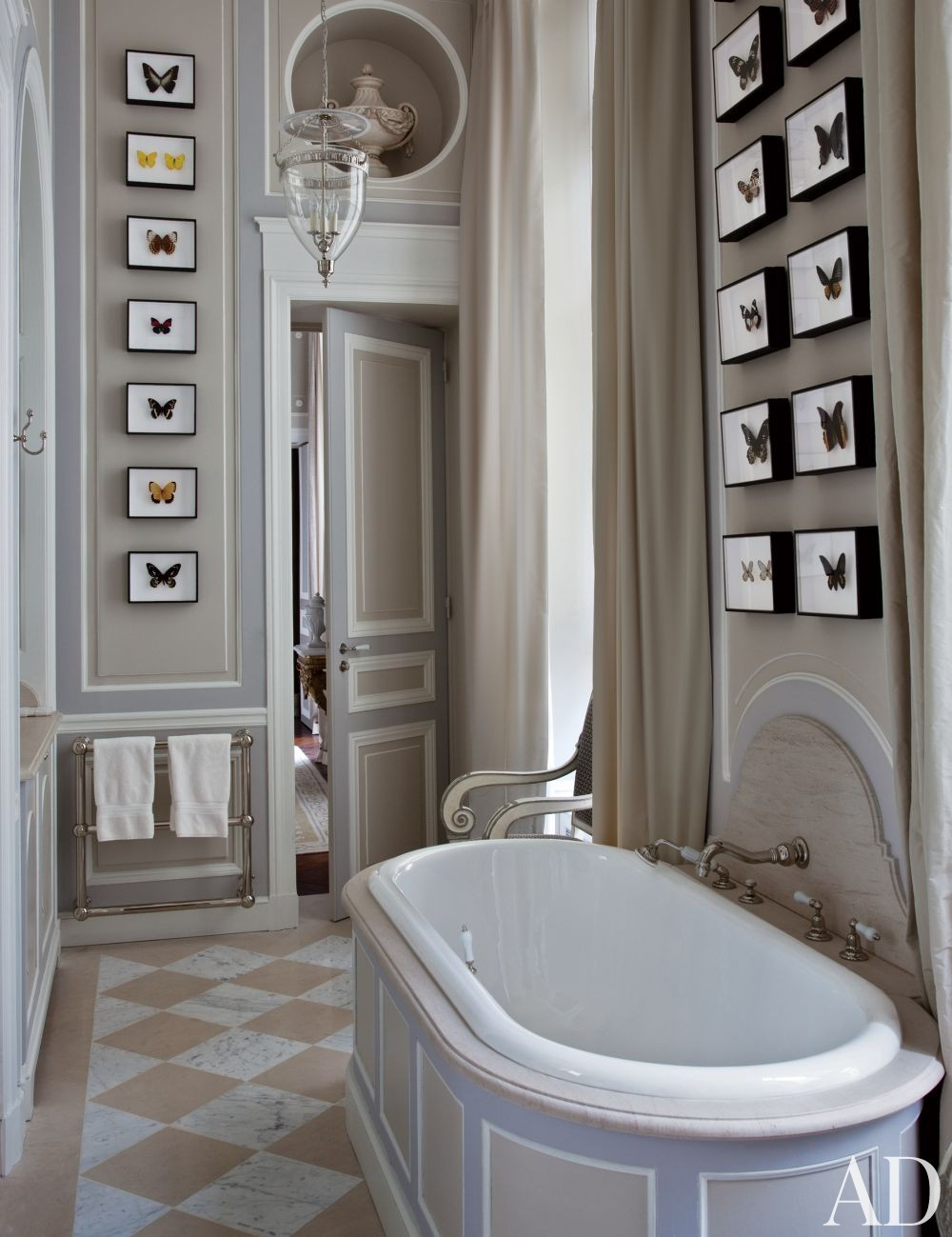 Traditional Bathroom by Jean-Louis Deniot in Paris, France