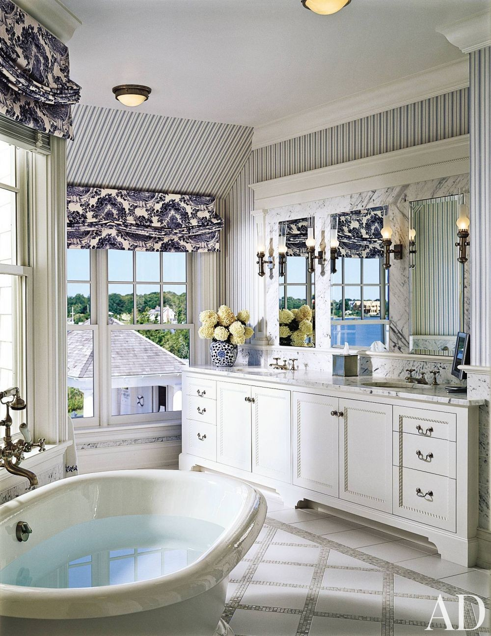 Traditional Bathroom By Joseph Kremer Ad Designfile Home Decorating Photos Architectural