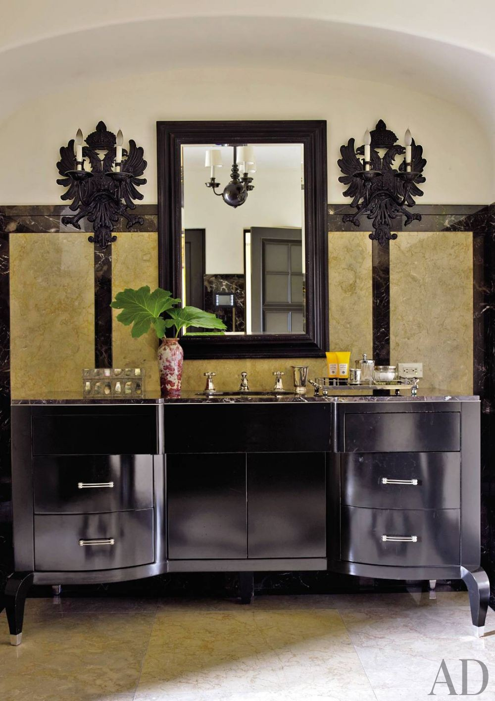 Traditional Bathroom by Madeline Stuart & Associates and Kevin A. Clark in Los Angeles
