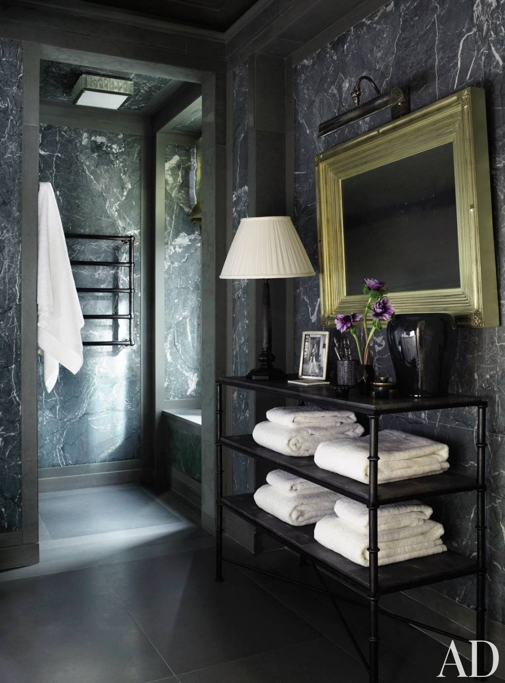 Traditional Bathroom By Michael S Smith Inc By Architectural Digest Ad Designfile Home