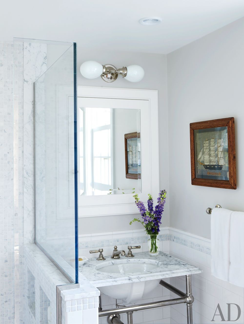 traditional bathroom by nantucket house antiques and