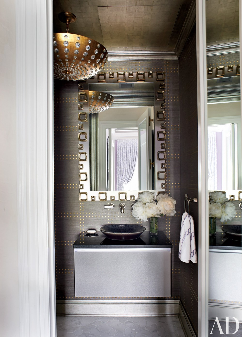 Traditional Bathroom by Susanna Maggard in New York, NY