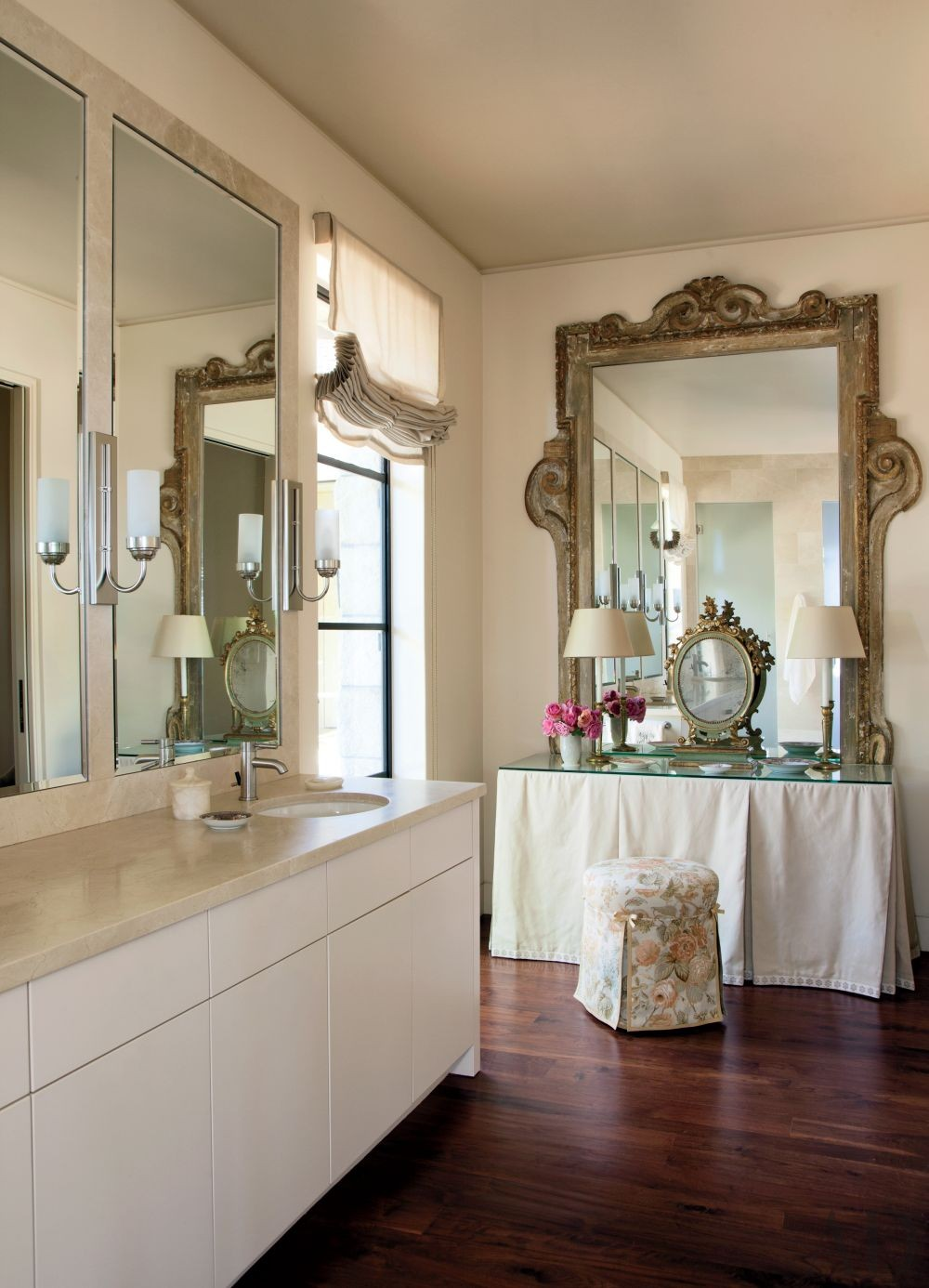 Traditional Bathroom by Suzanne Rheinstein & Assoc. and Manson-Hing Architecture in Montecito, California