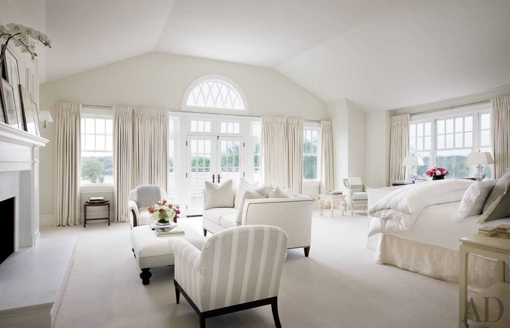 Traditional Bedroom by Alexa Hampton in Bridgehampton, NY