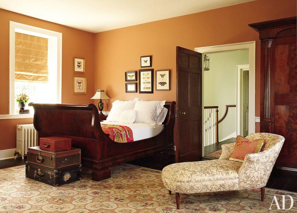 Traditional Bedroom by Alison Martin Interiors Ltd. and Jean Perin Interior Design in Virginia