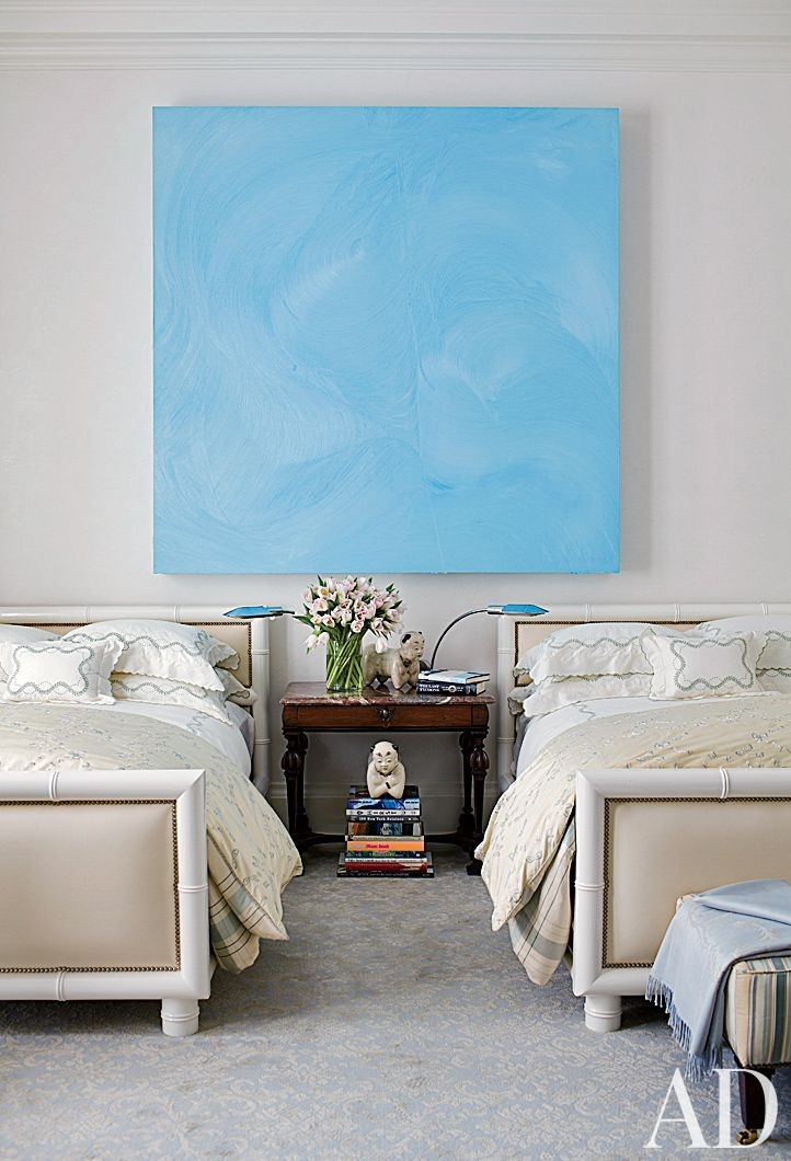 Traditional Bedroom by Aman & Carson in Palm Beach, Florida