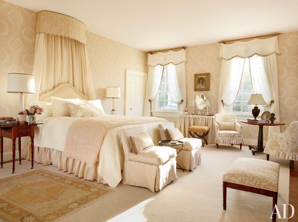 Traditional Bedroom by Amelia T. Handegan Inc. and Tidewater Preservation Inc. in Rappahannock Valley, Virginia