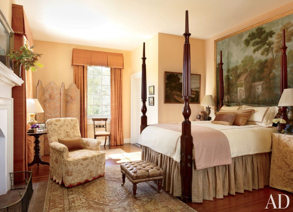 Traditional Bedroom by Amelia T. Handegan Inc. and Tidewater Preservation Inc. in Rappahannock Valley, Virginia