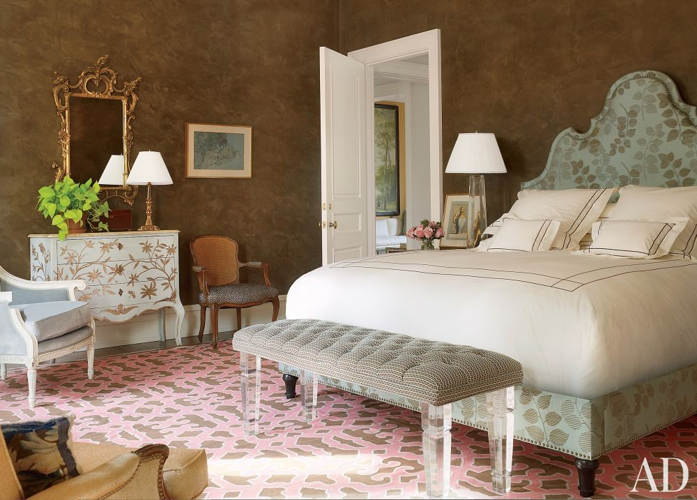 Traditional Bedroom by Bunny Williams Inc. and 3north in Richmond, Virginia