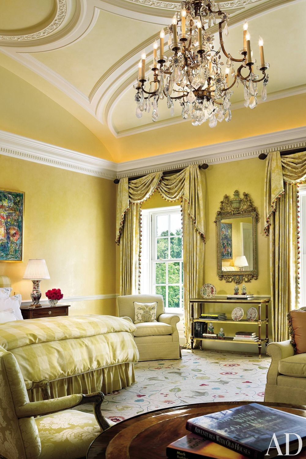 Elegant Master Bedroom Color