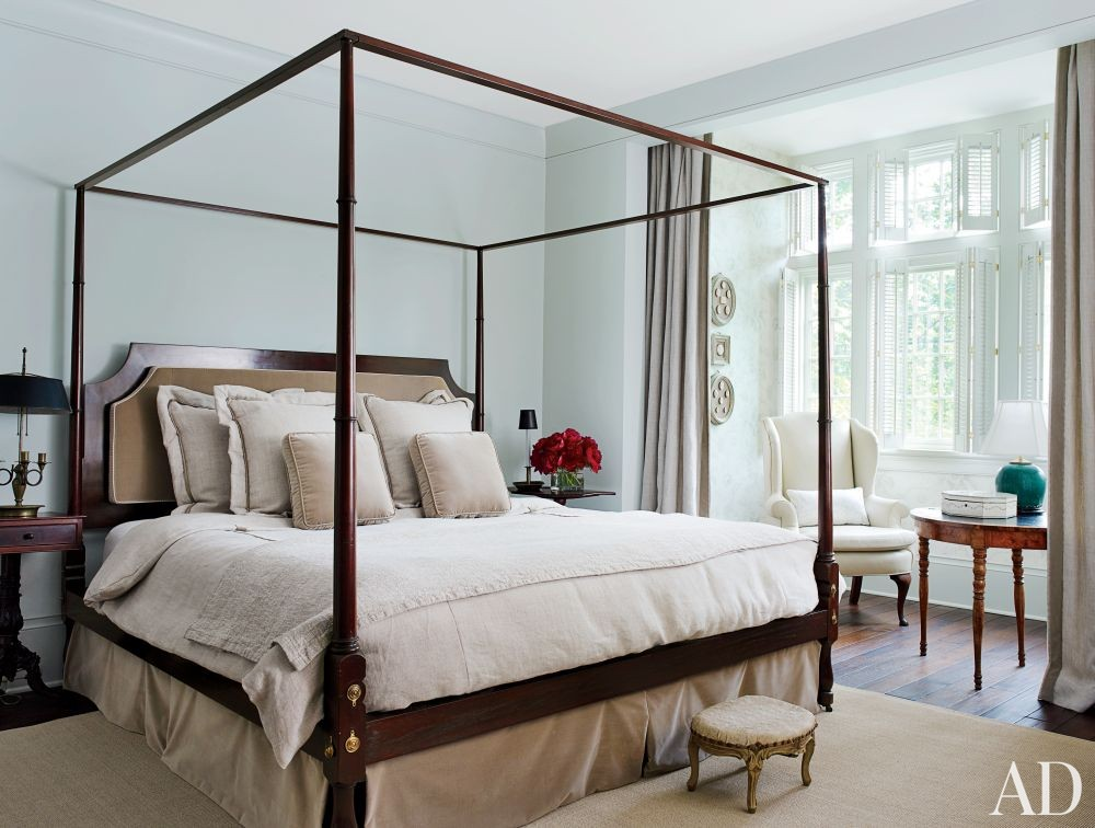 Traditional Bedroom by Darryl Carter Inc. and Donald Lococo Architects in Washington, D.C.