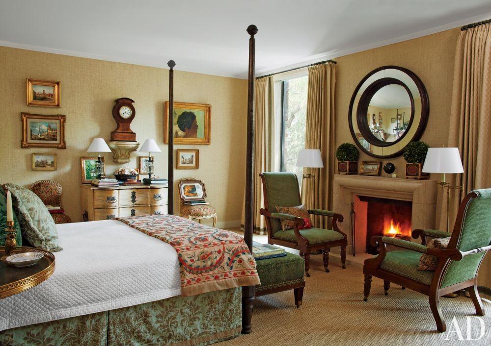Traditional Bedroom by David Easton Inc. in Tulsa, Oklahoma