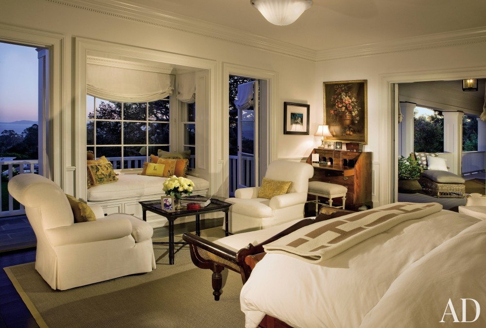 Traditional Bedroom by David Phoenix and Don Nulty in Santa Barbara, California