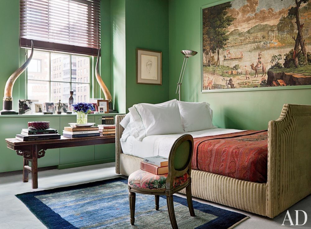 Traditional Bedroom by John Yunis Ltd. and Cicognani Kalla Architect in New York, New York