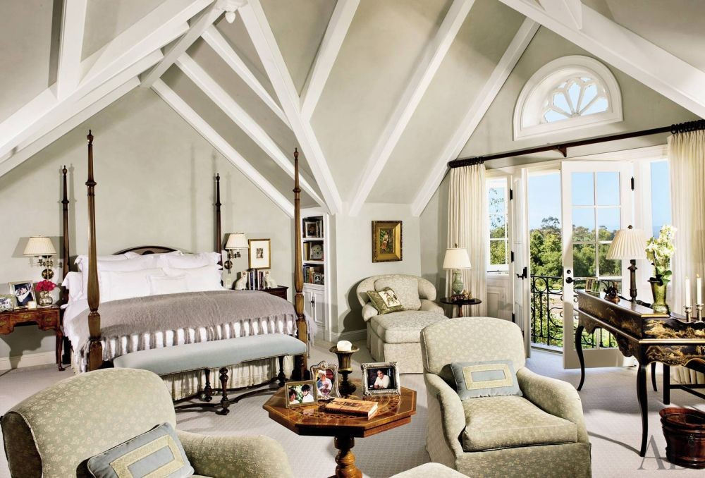 Traditional Bedroom by Lane-McCook & Associates and Appleton & Associates in Santa Barbara, California