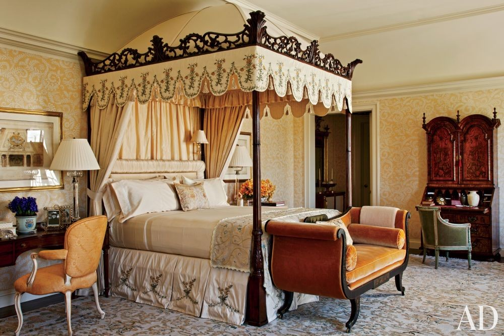 Traditional Bedroom by Lauren King and Ferguson & Shamamian Architects in Los Angeles, California