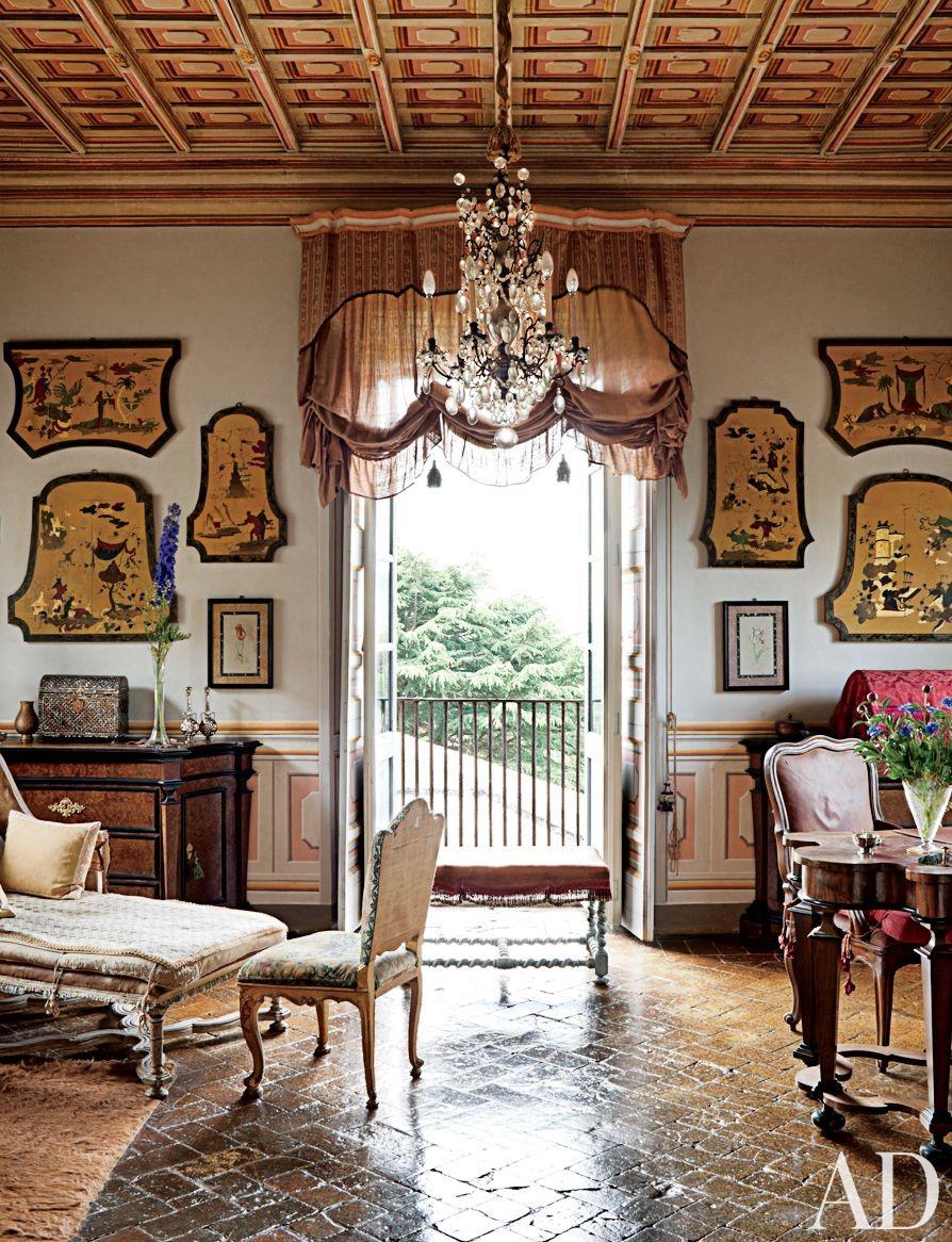 Traditional Bedroom in Lazio, Italy