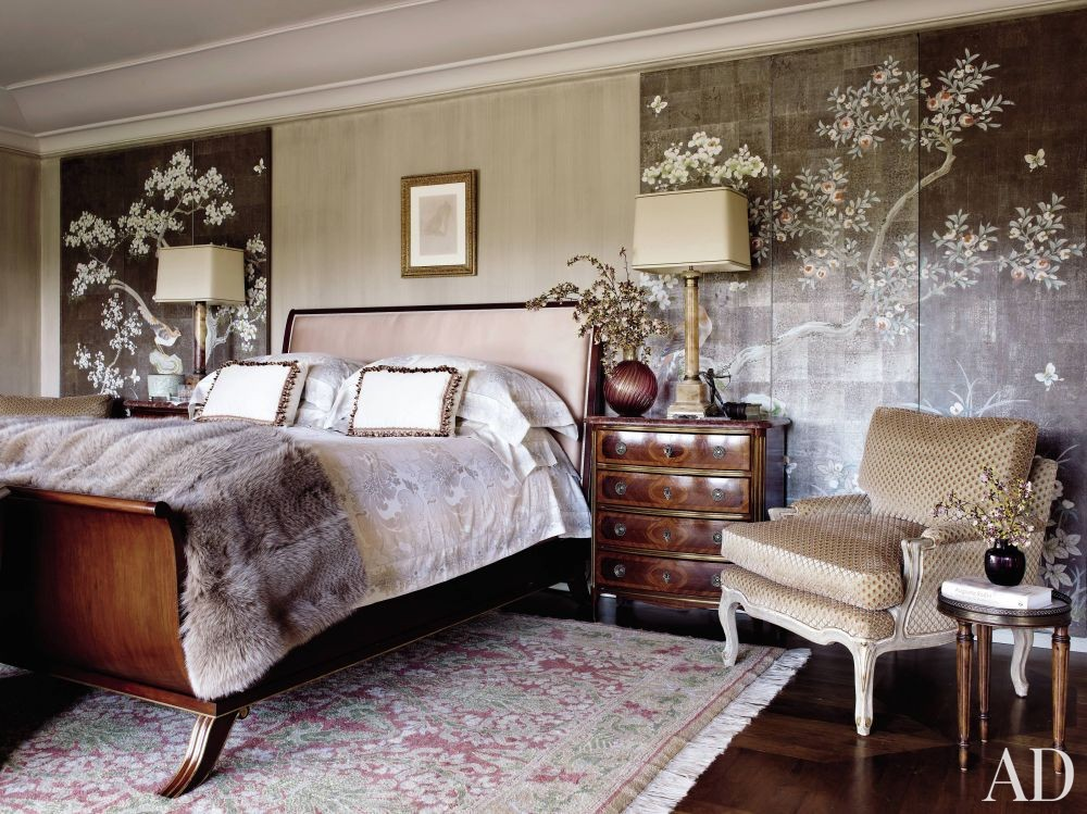 Traditional Bedroom by Madeline Stuart & Associates and Kevin A. Clark in Los Angeles