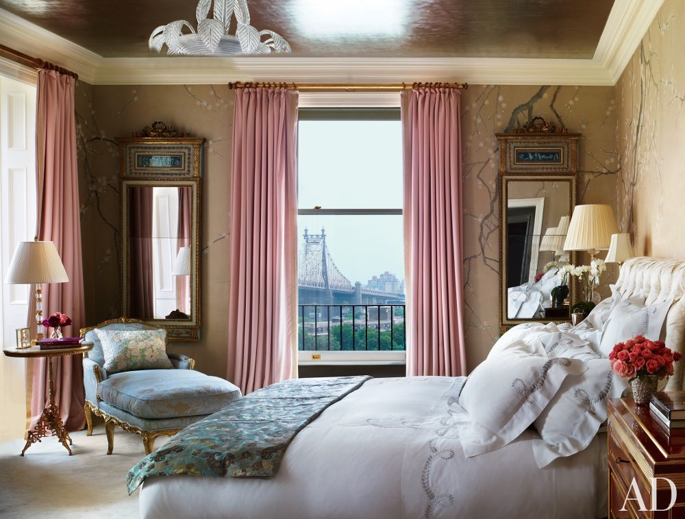 Traditional Bedroom by Michael S. Smith Inc. and Peter Pennoyer Architects in New York, New York