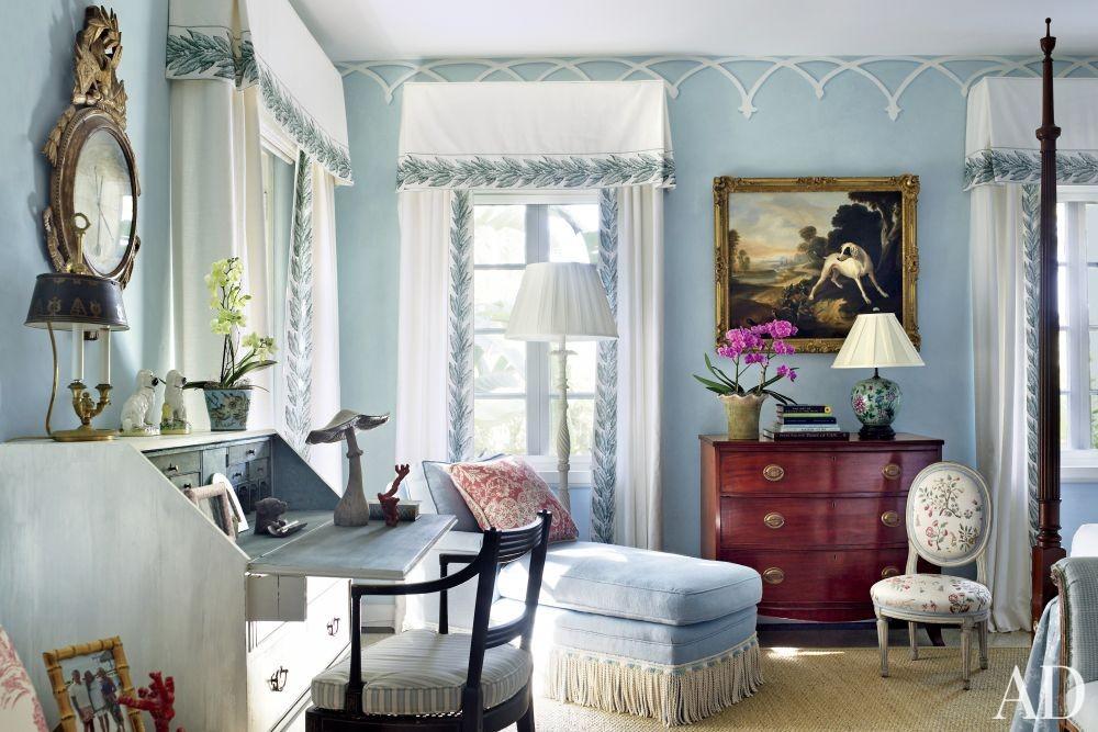 Traditional Bedroom by Nancy Morton and F. Burrall Hoffman Jr. in Boca Grande, Florida