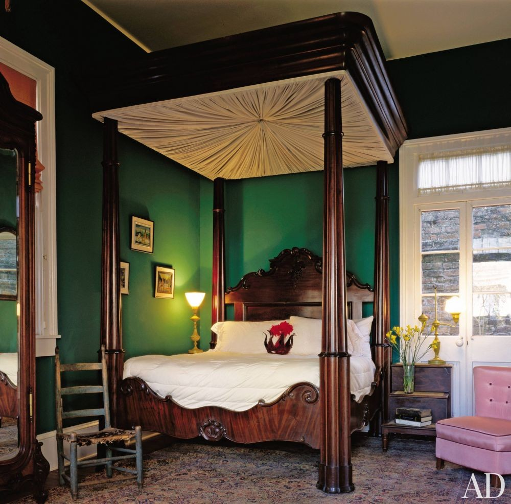 Traditional bedroom by helen mirren and taylor hackford by - New orleans style bedroom decorating ideas ...
