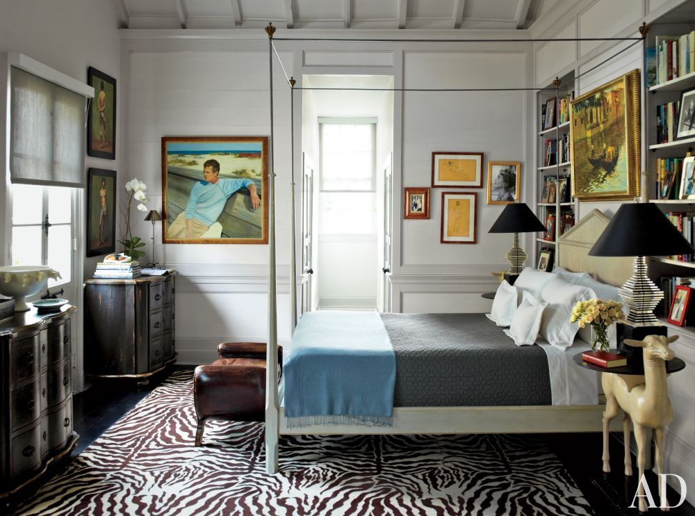 Traditional Bedroom in New Orleans, Louisiana