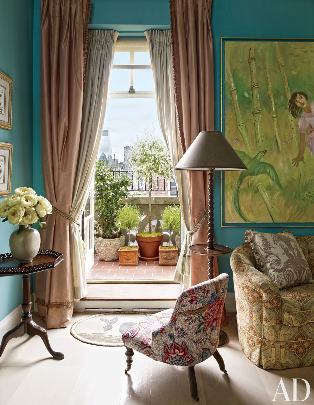 Traditional Bedroom by Rain Phillips in New York, New York