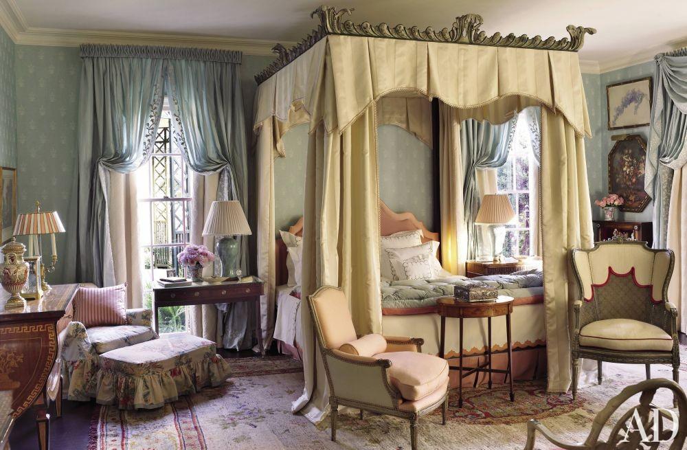 Traditional Bedroom by Richard Keith Langham, Inc. and Lewis Graeber III & Associates in Hattiesburg, Mississippi