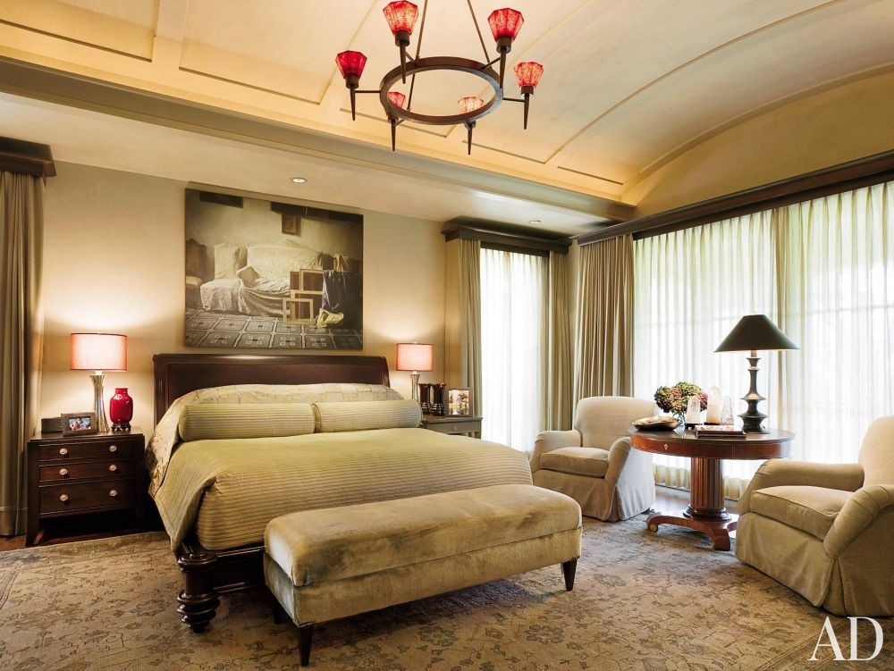 traditional bedroom by rwm design by architectural digest