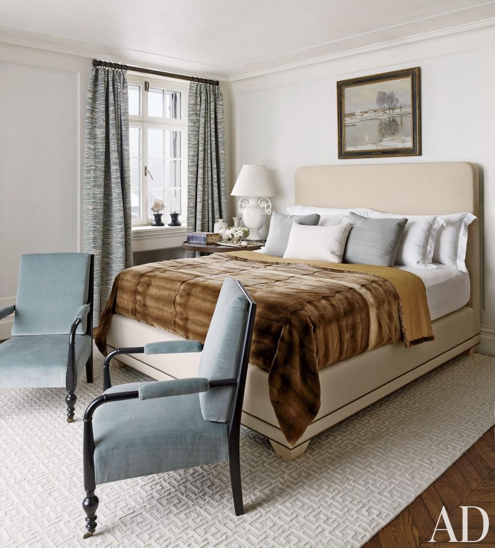 Traditional Bedroom by S. R. Gambrel Inc. and Mathis Meier Architekten in Zurich, Switzerland